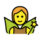 Fairy Emoji in Openmoji