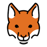 Fox Emoji in Openmoji