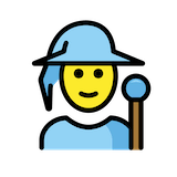Mage Emoji in Openmoji