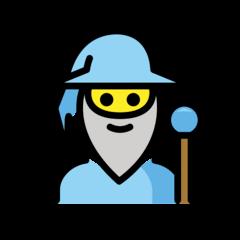 Man Mage Emoji in Openmoji