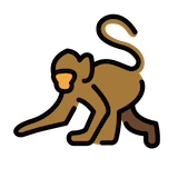 Monkey Emoji in Openmoji