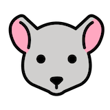 Mouse Face Emoji in Openmoji