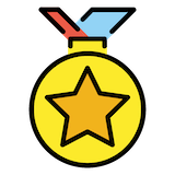 Sports Medal Emoji in Openmoji