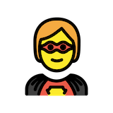 Superhero Emoji in Openmoji