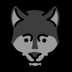 Wolf Emoji Openmoji