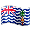 Flag: British Indian Ocean Territory Emoji on Samsung Phones