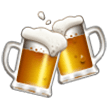 Clinking Beer Mugs Emoji on Samsung Phones