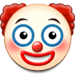 Clown Face Emoji on Samsung Phones