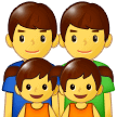 Family: Man, Man, Girl, Girl Emoji on Samsung Phones