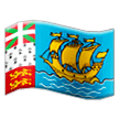 Flag: St. Pierre & Miquelon Emoji on Samsung Phones