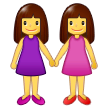 Women Holding Hands Emoji on Samsung Phones
