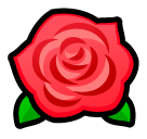 Rose Emoji SoftBank