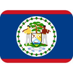 Flag: Belize Emoji on Twitter