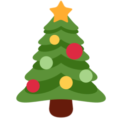 Christmas Tree Emoji on Twitter