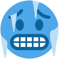 Cold Face Emoji on Twitter