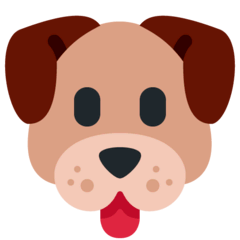 Dog Face Emoji on Twitter