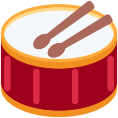 Drum Emoji on Twitter