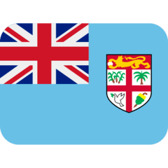 Flag: Fiji Emoji on Twitter