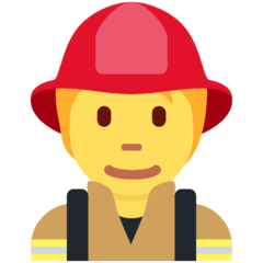 Firefighter Emoji on Twitter