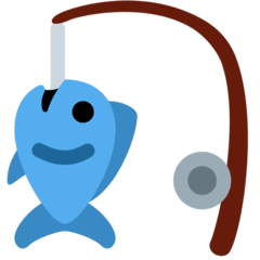 Fishing Pole Emoji on Twitter
