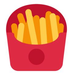 French Fries Emoji on Twitter