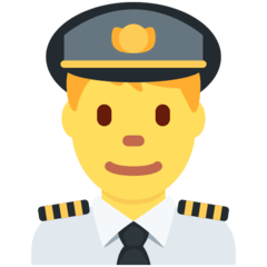 ️Man Pilot Emoji on Twitter