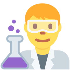 Man Scientist Emoji on Twitter