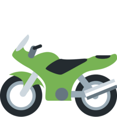 Motorcycle Emoji on Twitter