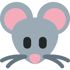 Mouse Face Emoji on Twitter