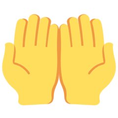 Palms Up Together Emoji on Twitter