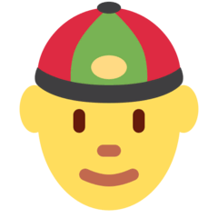 Person With Skullcap Emoji on Twitter