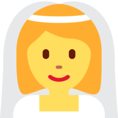Person With Veil Emoji on Twitter