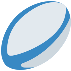 Palla da rugby Emoji Twitter
