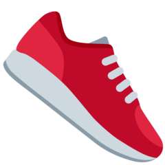 Running Shoe Emoji on Twitter