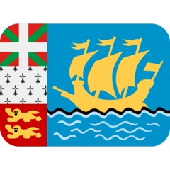 Flag: St. Pierre & Miquelon Emoji on Twitter