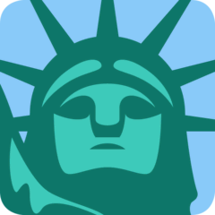 Statue of Liberty Emoji on Twitter