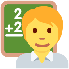 Teacher Emoji on Twitter