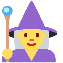 Woman Mage Emoji on Twitter