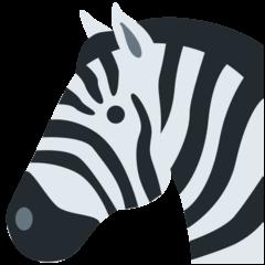 Zebra Emoji on Twitter