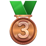 3rd Place Medal Emoji on WhatsApp