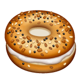 Bagel Emoji WhatsApp