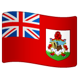 Flag: Bermuda Emoji on WhatsApp