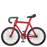 Bicycle Emoji on WhatsApp