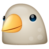 Bird Emoji on WhatsApp