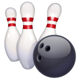 Bowling Emoji on WhatsApp