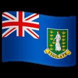 Bandiera delle Isole Vergini Britanniche Emoji WhatsApp