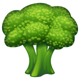 Broccoli Emoji on WhatsApp
