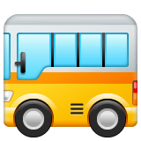 Bus Emoji WhatsApp