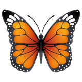 Schmetterling Emoji WhatsApp