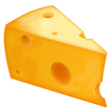 Cheese Wedge Emoji on WhatsApp